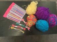 crochet hooks yarn and threads