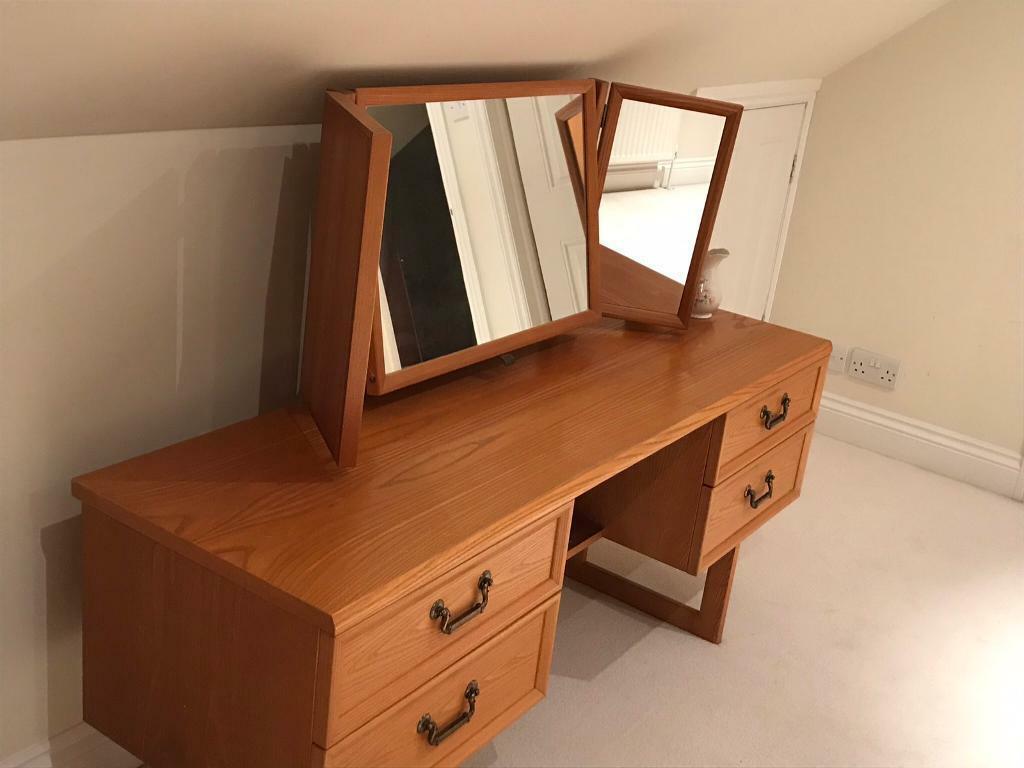 Plan Dressing En U solid oak dressing table - g-plan | in rochester, kent | gumtree