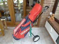 Golf Bag & Trolley (DONNAY)