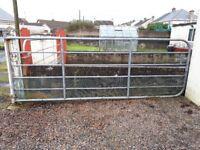 6 rail metal fam gate 11 foot