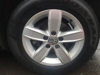 alloy wheels 5 stud 15 inch for VW Golf x 4