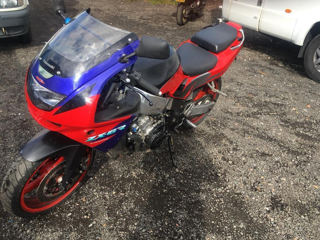 Zx6r swap for 125