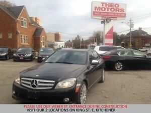 2009 Mercedes-Benz C-Class 2.5L | SUNROOF | LEATHER | HEATED SEA