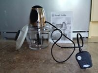 Russell Hobbs Mini Chopper/Processor with box - EXC COND