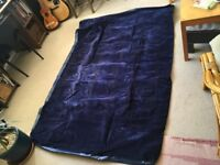 Double Air Bed with Built In Pump in great condition - inflates in 3 min
