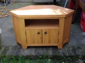 Real Oak side table, Tv Table, Angle table