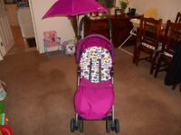 mamas and papas swirl stroller, used only once, pristine condition. £25