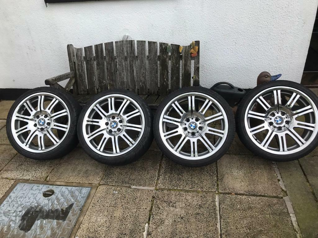 Polished m3 staggered alloys in mint condition