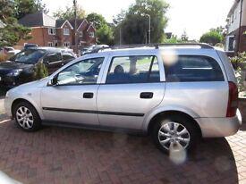 "Vauxhall Astra 1.7 DTI Diesel Estate 2002 ""02 plate"""