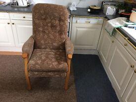 Fireside High Seat armchair
