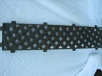 CAST IRON BENCH BACK...