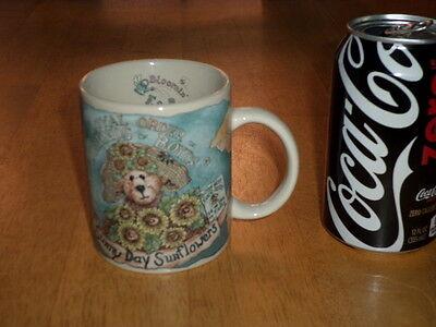 (THE BOYDS COLLECTION - TEDDY BEAR - SUNNY DAY, Ceramic Coffee Cup / Mug, Vintage)
