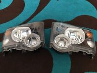 Land Rover discovery 2 facelift headlights