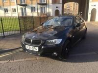 BRAND NEW MOT ZERO ADVISORIES STUNNING METALLIC BLACK BMW 318iSE 6SP MAN 4DR 61k MILES FSH 2009(59)