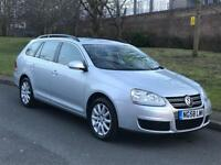 Silver Volkswagen Golf 1.9 TDI SE 5dr Estate Manual Diesel