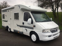 FIAT DUCATO 2.8TD TRIGANO CHALLENGER 107, FIXED BED, 4 BERTH 4 TRAVELLING BELTS, LOTS EXTRAS *FSH*