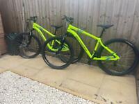 2x rockrider bike
