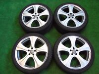"18"" ALLOY WHEELS TO FIT AUDI TT MK1, VW GOLF MK4, BEETLE, BORA 5 x 100"