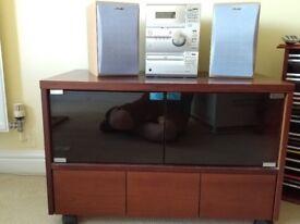 Sony Hifi + cabinet