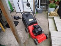 Briggs & Stratton petrol lawnmower