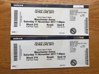 2 seated tickets 1xtra live