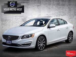 2015 Volvo S60 T6 AwD Premier Plus - 0.0% UpTo 60 Months