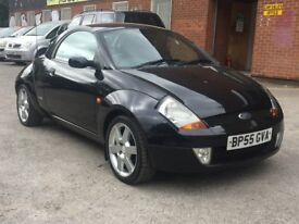 2006 FORD STREETKA * WINTER EDITION * 1.6 PETROL * LEATHER * HARDTOP * REQUIRES ATTENTION * PX *