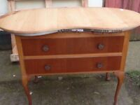 Kidney Shaped Dressing Table Delivery Available £15