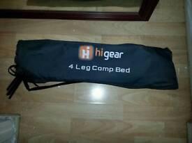4 leg camp bed