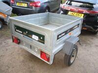 DAXARA 137 TILTBED / DROPTAIL (450KG) GOODS TRAILER......