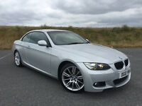 STUNNING LOW MILEAGE 2010 BMW 320 D M SPORT CONVERTIBLE FULL SERVICE HISTORY VERY HIGH SPEC!