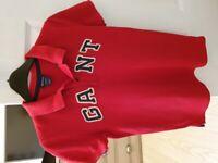 Boys Gant polo t'shirt, 9-10 years