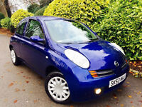 **LEFT HAND DRIVE LHD +AUTO** NISSAN MICRA 1.2 SE + FUL SERV/HISTRY + 1 PENSNR OWNR + IMMACULATE CAR