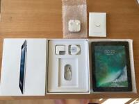 BNIB iPad 4 Black 32gb WiFi & cellular, 12w wall charger, lightning cable & earphone ALL NEW!