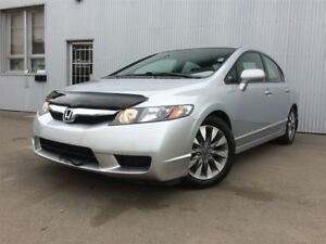 2009 Honda Civic EX-L, LEATHER,  SUNROOF, HEATED SEATS.
