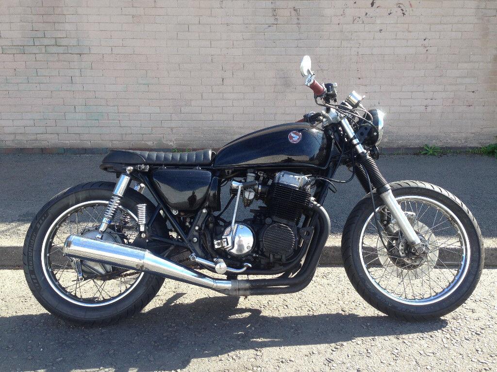 Honda CB750 Brat Rat Scrambler