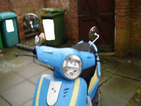 SONIK STRADA 50CC 2017 .SWOP FOR AN ELECTRIC MOPED THAT REQUIRES NO LICENSE