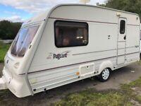 Bailey pageant magenta 2 berth caravan +motor mover