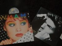 """GEORGE MICHAEL AND WHAM 12"""" SINGLES"""