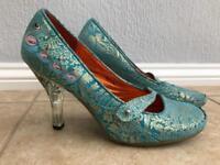 Irregular choice swan shoes