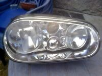 Volkswagen Golf mark 4 breaking for spares pair headlamps free local delivery