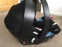 Cybex Aton car seat and isofix base