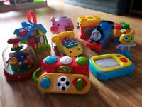 Baby and Toddler Toy Bundle. Fisher Price, Leapfrog, Elc etc
