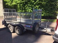 Wessex DT26 Digger Trailer with Mesh Sides
