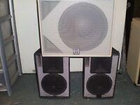 MARTIN AUDIO AQ SERIES SPEAKERS- BOSE 802