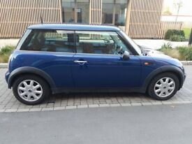 FULLY WORKING Shiny Blue 2004 Mini One Auto 1.6l, 3 Door, Electric Windows, CD/Aux Radio, 102k miles