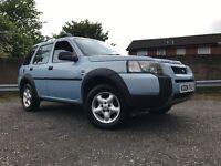 Land Rover Freelander Td4 4x4 Long Mot Full Service History Low Mileage Good Spec Towbar Etc Cheap !
