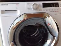 HOOVER DYNAMIC WASHING MACHINE 12 Mths OLD.£150 WAS £250 9kg Load, 1400 Spin