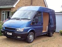 Camper Van (Day) Diesel Ford Transit 1998cc Good Condition Metalic Blue