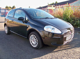 2009 (09) Fiat Grande Punto Active Only 63k Miles with 12 months MOT & Service History